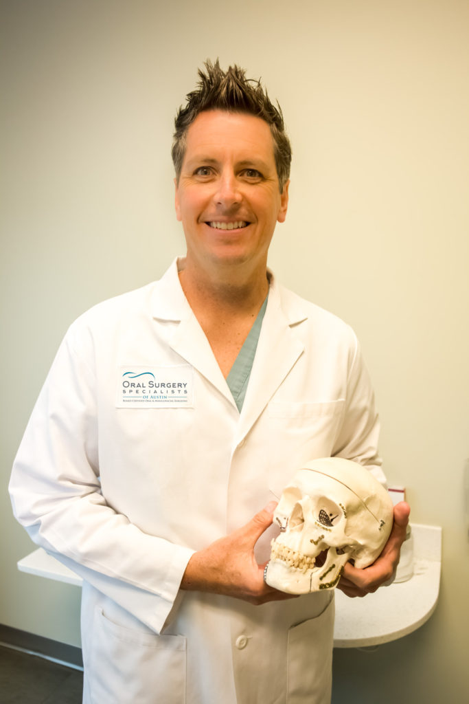 Dr. Largent at Oral Surgery Specialists of Austin