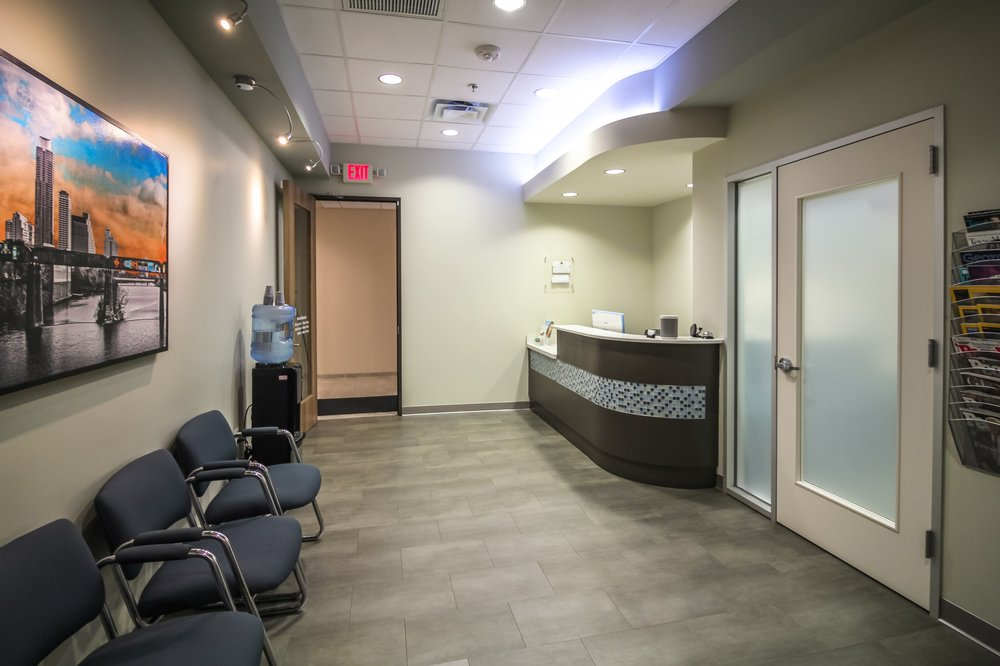 Oral Surgery Specialists of Austin front desk.